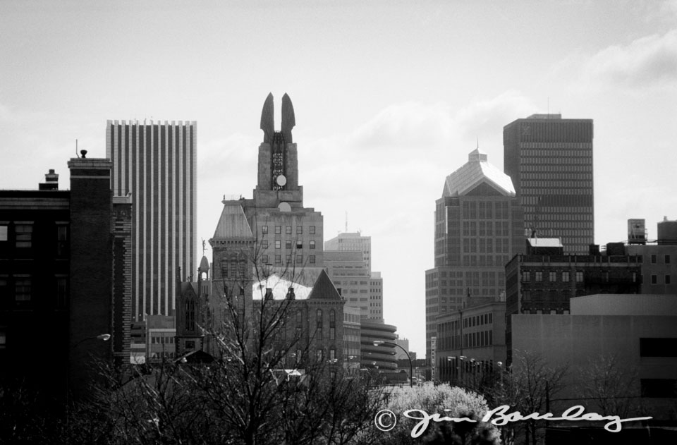 The rochester ny skyline looking eastward image278 this view